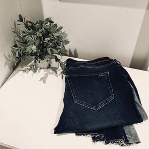 Hollister Skinny Colour Block Jeans